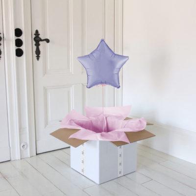 lilac-star gwiazdka balon